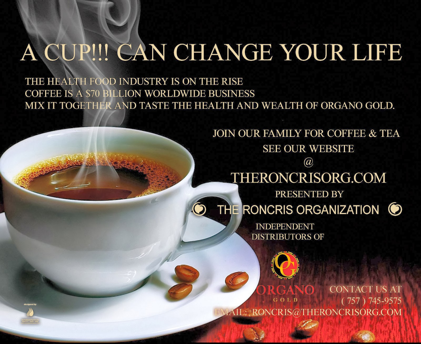organo gold business cards templateano gold business card