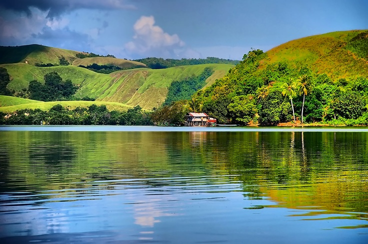 Sentani Lake, Papua, Indonesia