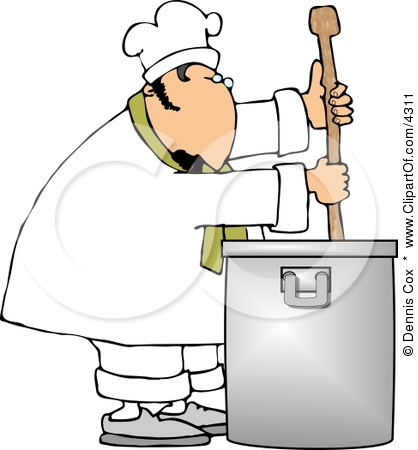 4311-Male-Chef-Stirring-A-Large-Pot-Of-S