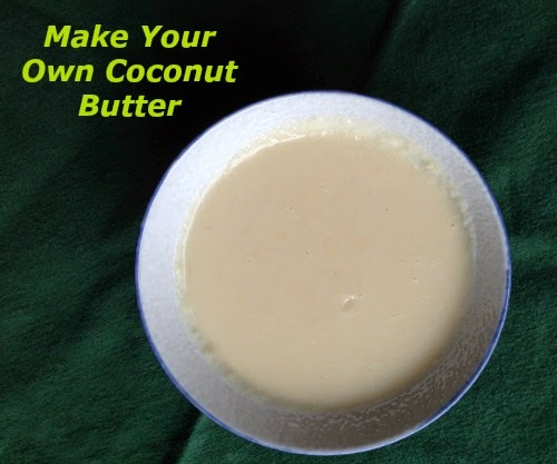 Make Your Own Coconut Butter from Kim's Welcoming Kitchen