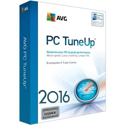 AVG PC TuneUp 2016 Full Version Serial Key Generator