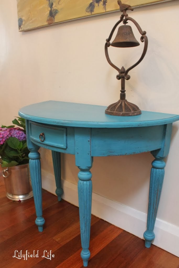 Ordinaire While We Are Talking Turquoise I Thought You Might Like To See Some Other  Pieces Iu0027ve Painted In This Colour (although Not All The Exact Same Colour    Most ...