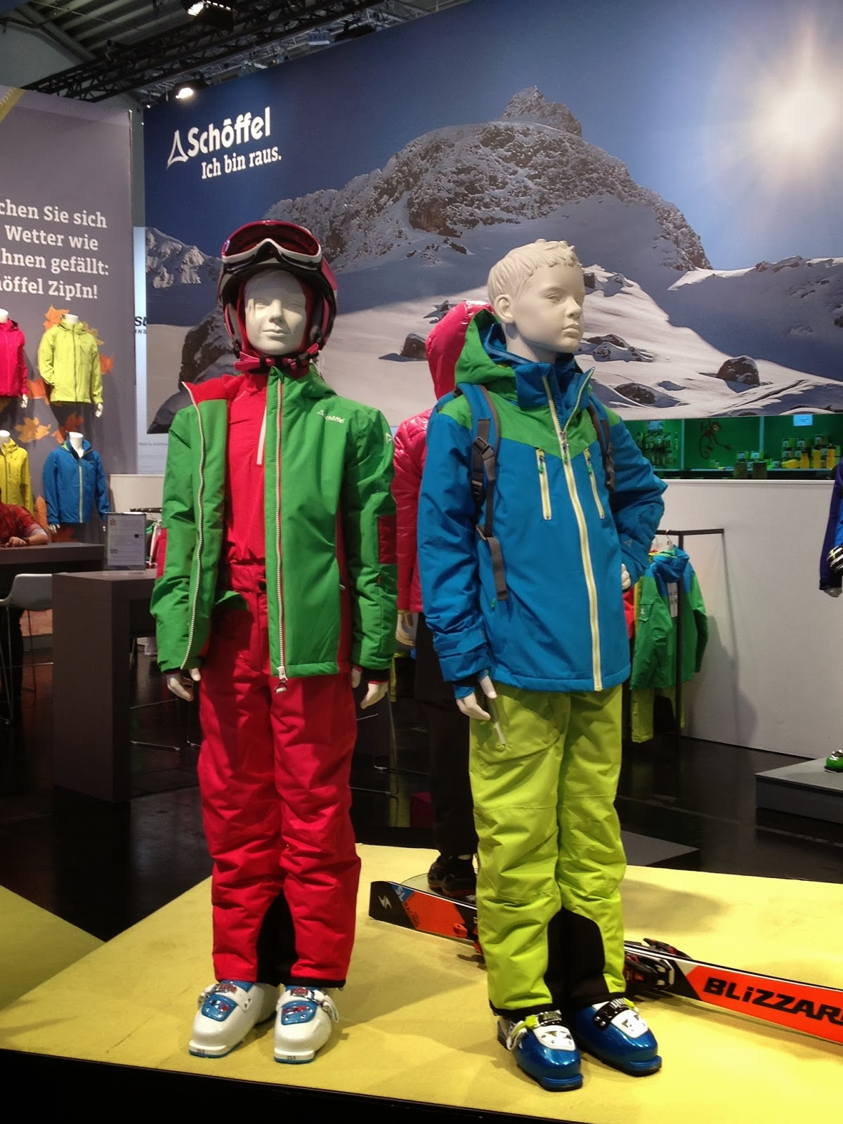 ISPO 2014 Schöffel Kinderkollektion