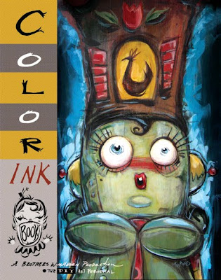 Miss Mindy: Color Ink Book & all that Chicken Jazz...