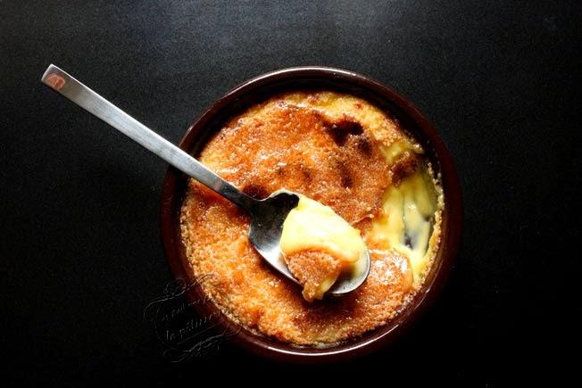 crème catalane fleur d'oranger
