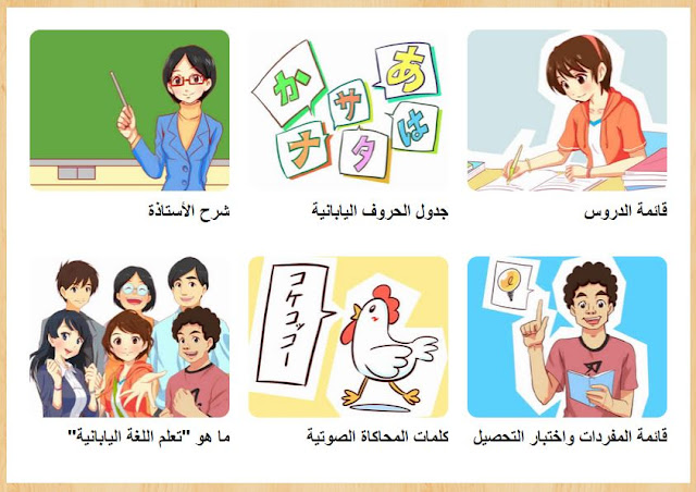 تعلم اللغة اليابانية بشكل سهل وممتع