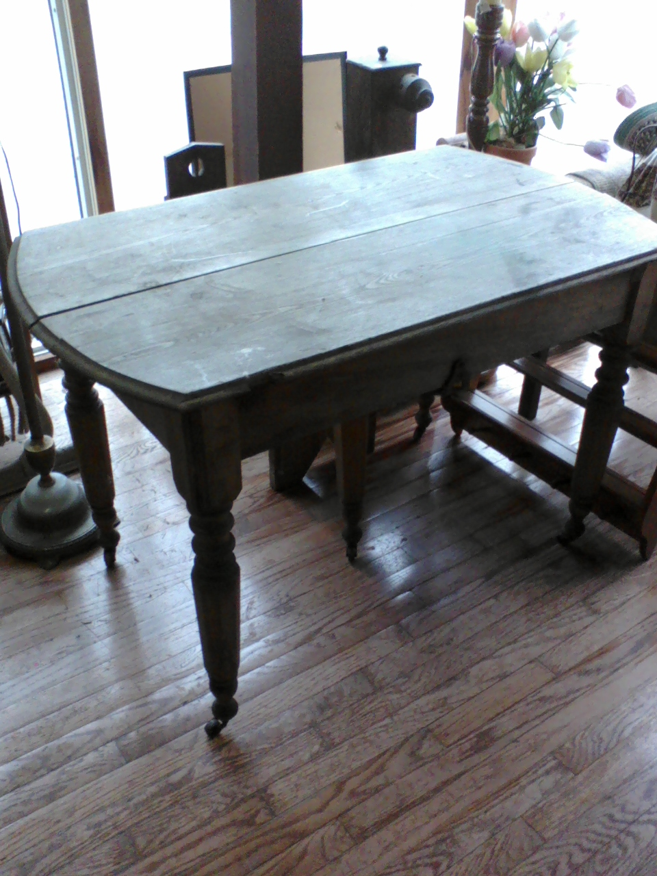 Antique Kitchen Work Tables Maple Leaves Sycamore Trees Antique Farm Table