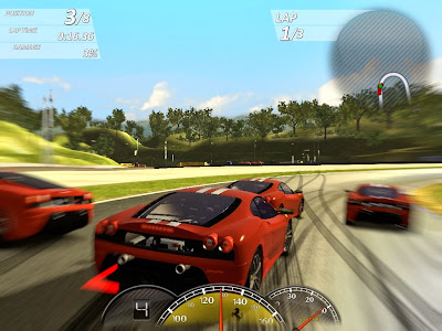 top pc car racing game ferrari virtual race
