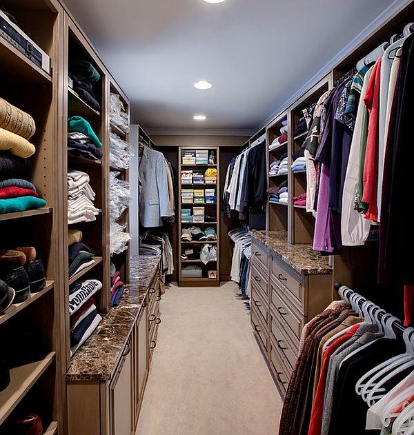Dise o de closets de lujo casas decoracion for Disenos de zapateras para closet