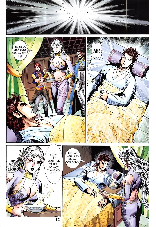 Thần Chưởng chap 24 – End Trang 12 - Mangak.info