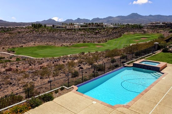 Las vegas luxury homes view henderson luxury pool for Homes for sale in las vegas with a pool