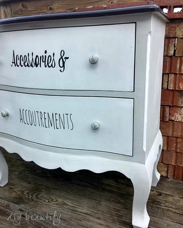 Farmhouse Modern dresser upcycle. DIY beautify