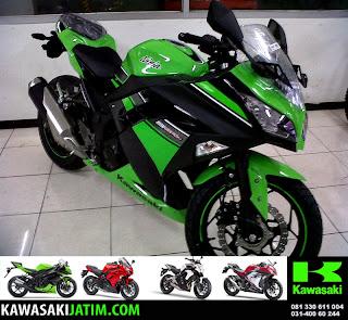 Ninja 250FI SE Lime Green