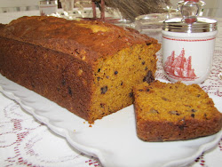 Spicy Cape Cod Pumpkin Bread