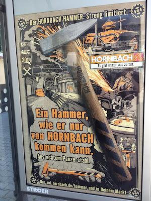 Un martillo como solo puede hacer Hornnach