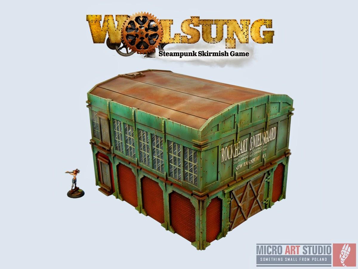 Wolsung SSG XIX Century Warehouse
