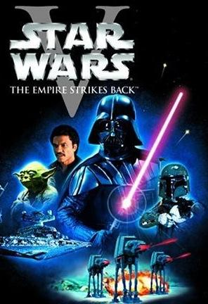 star wars episode v   the empire strikes back box space movie