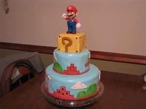 Mario Model Cake