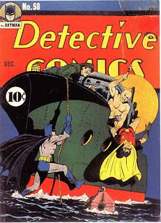 Detective Comics #58 cover image! First appearance of Penguin