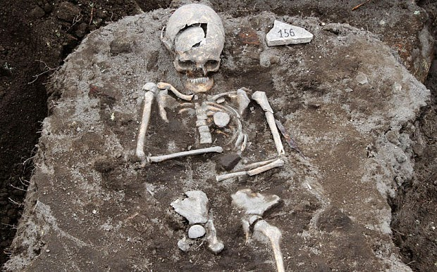 A Vampire Grave Discovered in Bulgaria