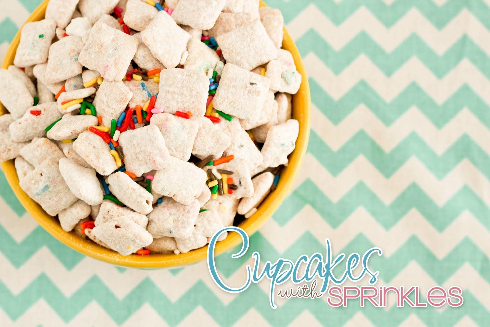 Cupcakes With Sprinkles Funfetti Muddy Buddies