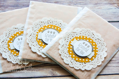 A Little Something - Treats for some Stampin' Super Stars
