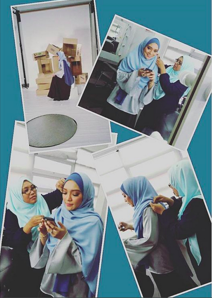 Hijab styling Diana Rafar