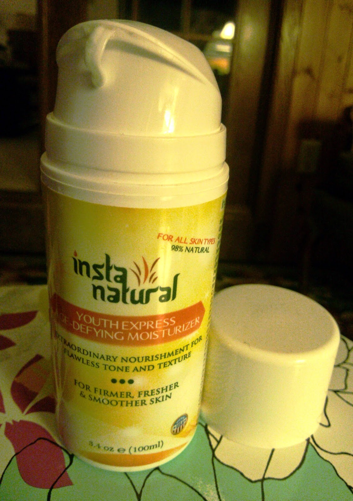 InstaNatural Youth Express Age-Defying Moisturizer Review