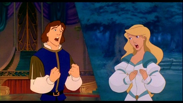 The Swan Princess, Derek & Odette