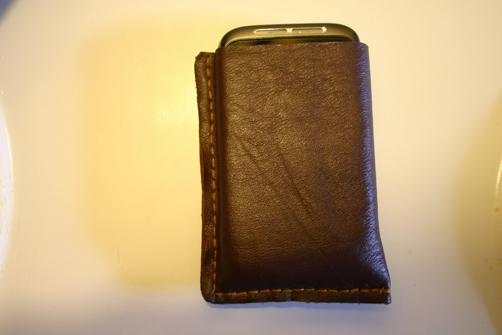 Looop Sewing Blog: leather cell phone case