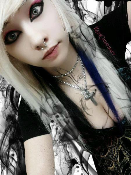 Hot vampire goth girl thanks for
