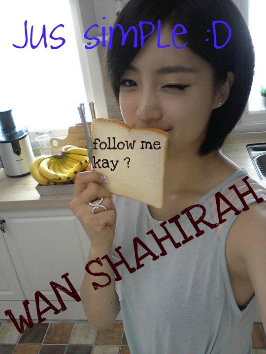 wan shahirah ^_^ V