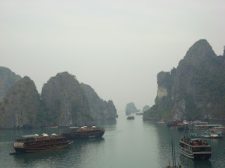 The famous Halong Bay