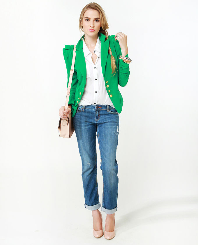 Cute Green Jacket! | Outfits In or out?