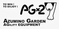 AGx2 安曇野ガーデンのアジリティー機材