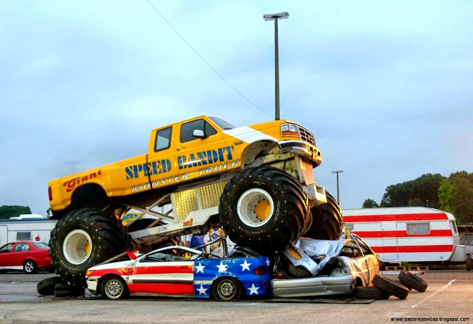 Monster Truck 1 Luc Viatour Wallpaper