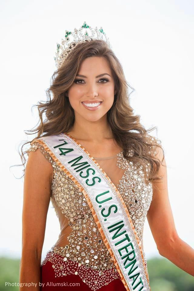 Miss USA US International 2014 winner Samantha Brooks