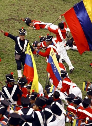 Escenificación de la Batalla de Carabobo