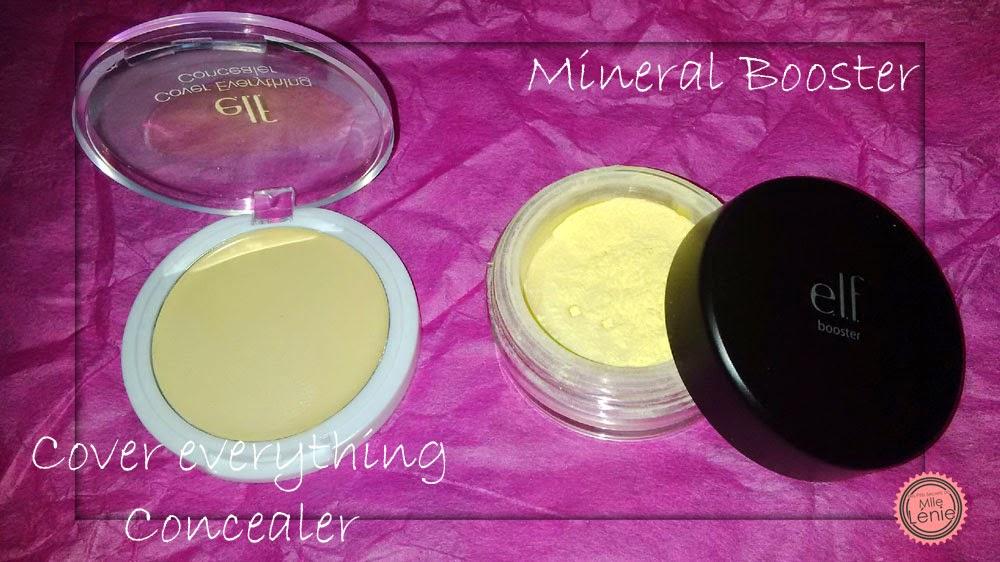 Ma 1er Commande  E.L.F, Verdict! Booster Mineral Corrective Yellow