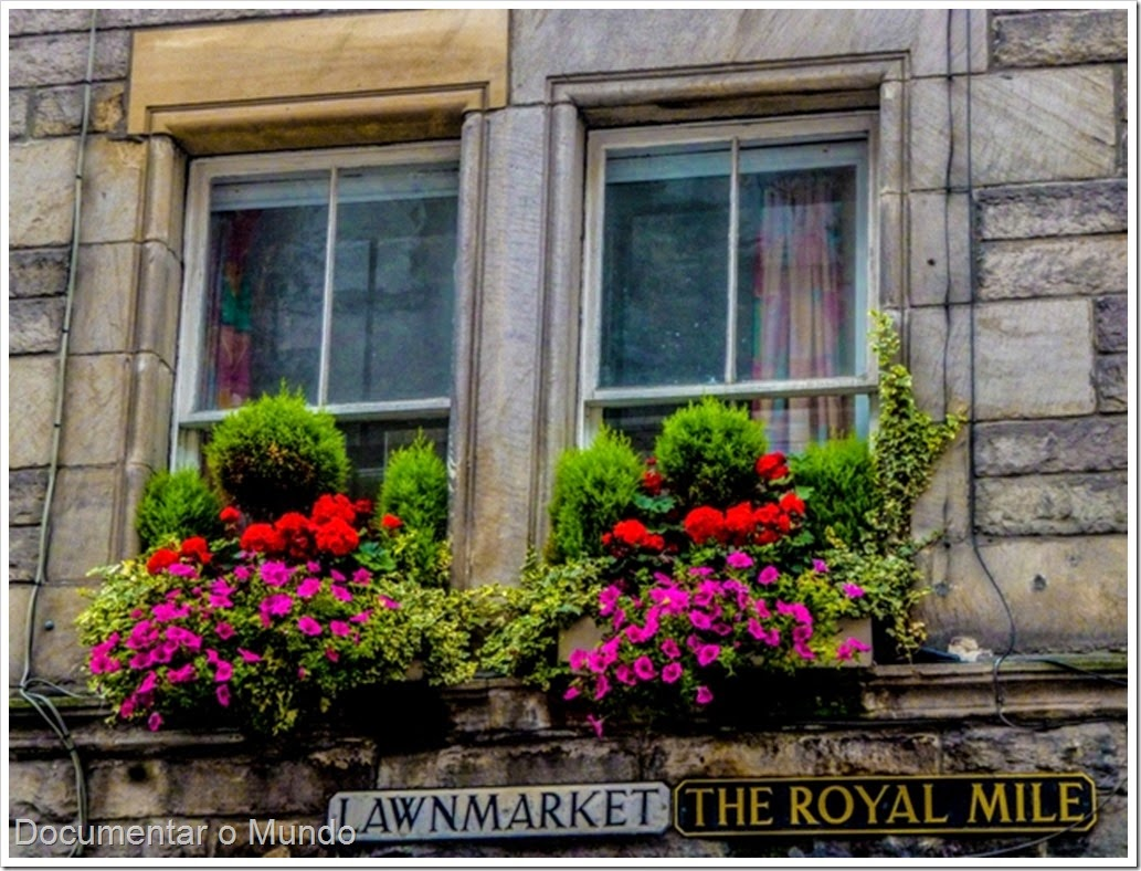 Lawnmarket; Royal Mile; Edimburgo