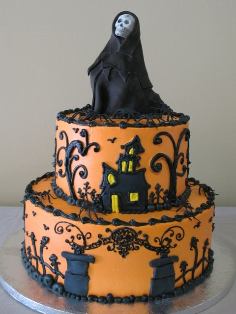 ... Midnight Monster Spookshow: Countdown to Halloween - Halloween Cakes