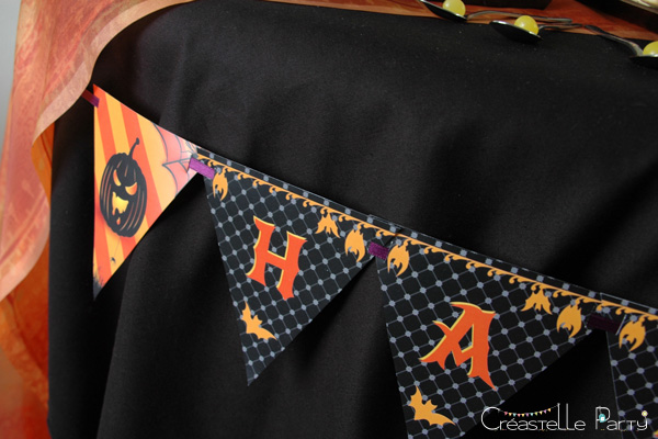 halloween sweet table - bannière - banner