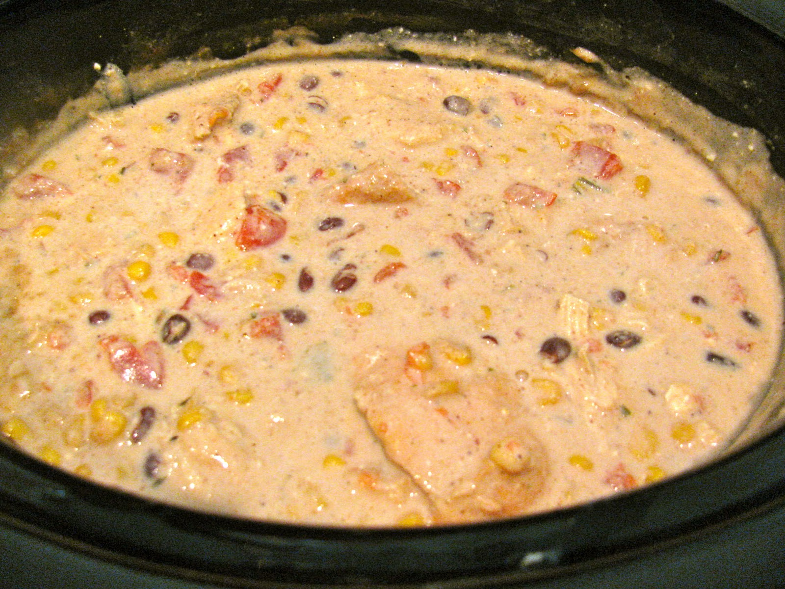 Ritas RecipesCrock Pot Cream Cheese Chicken Chile