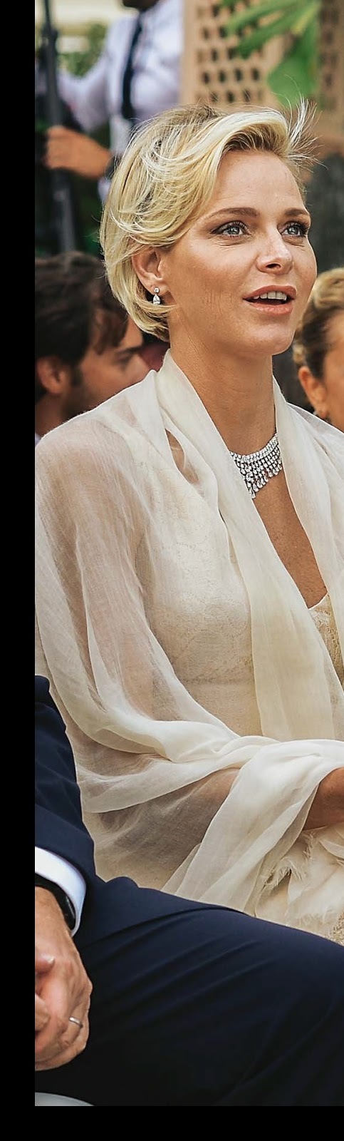 Princess Charlene Graff Diamonds necklace