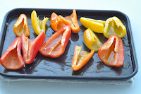 Griddled Chicken with Roasted Mini Peppers and Salsa Picante ~ Simple Food