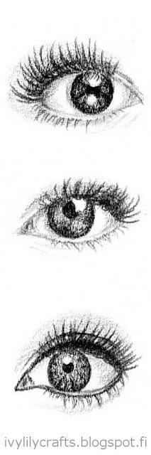 Eye sketches.