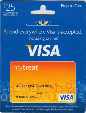 how to get a prepaid visa card