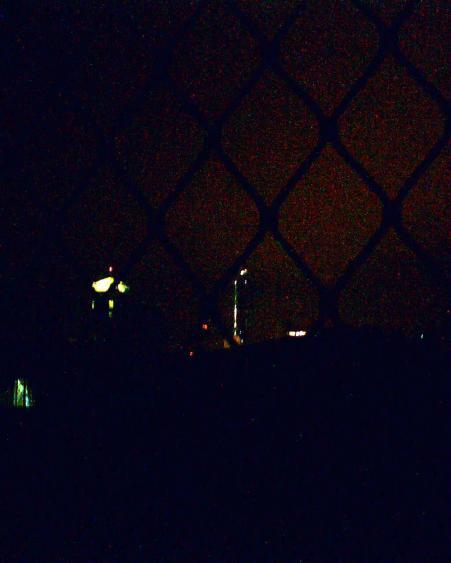 後窗‧凌晨時分‧台北101大樓