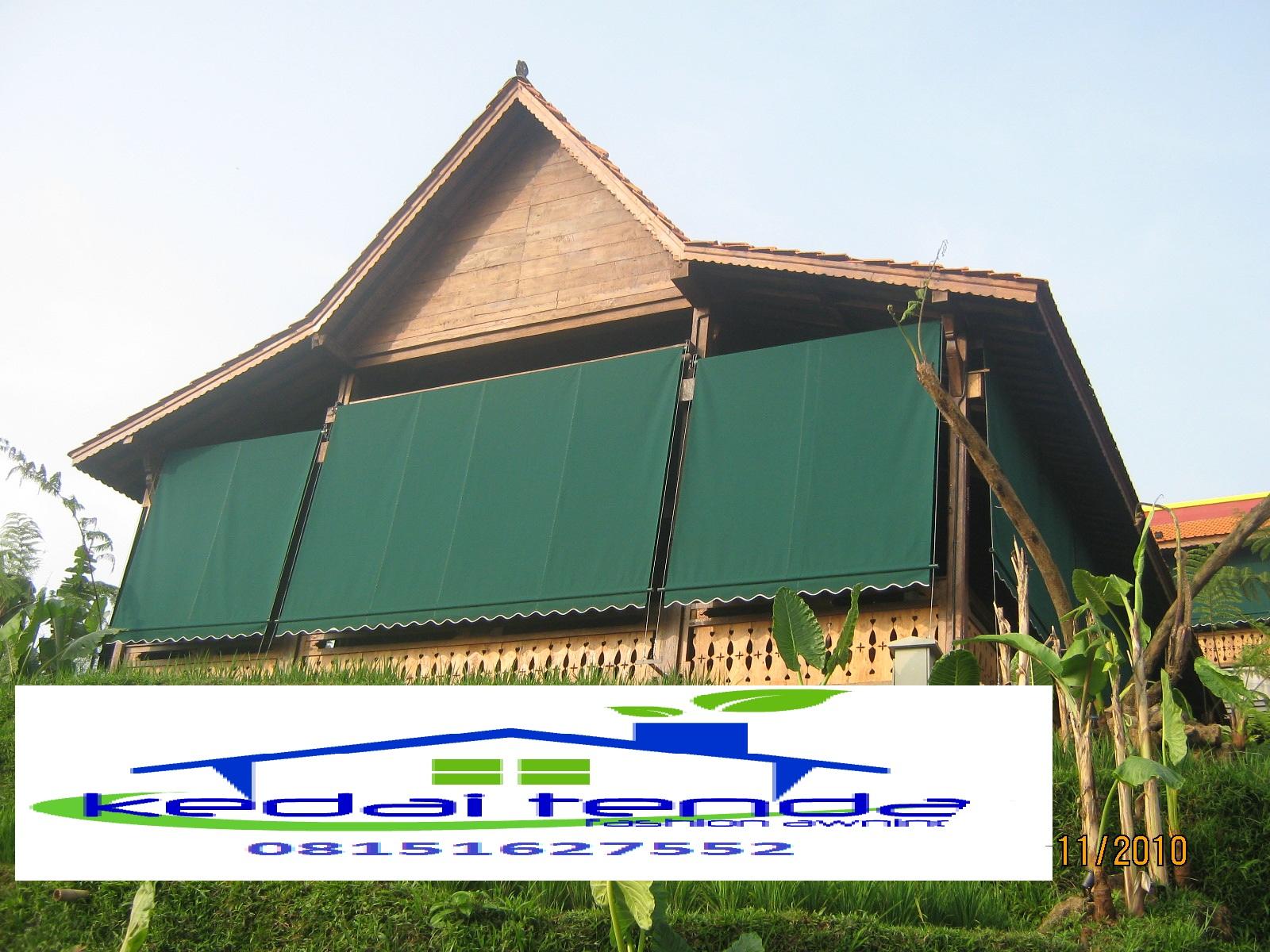awning gulung vertical  08151627552 ( KARSUDI )