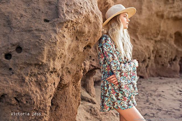 Moda primavera verano 2016 Vestidos Victoria Jess.